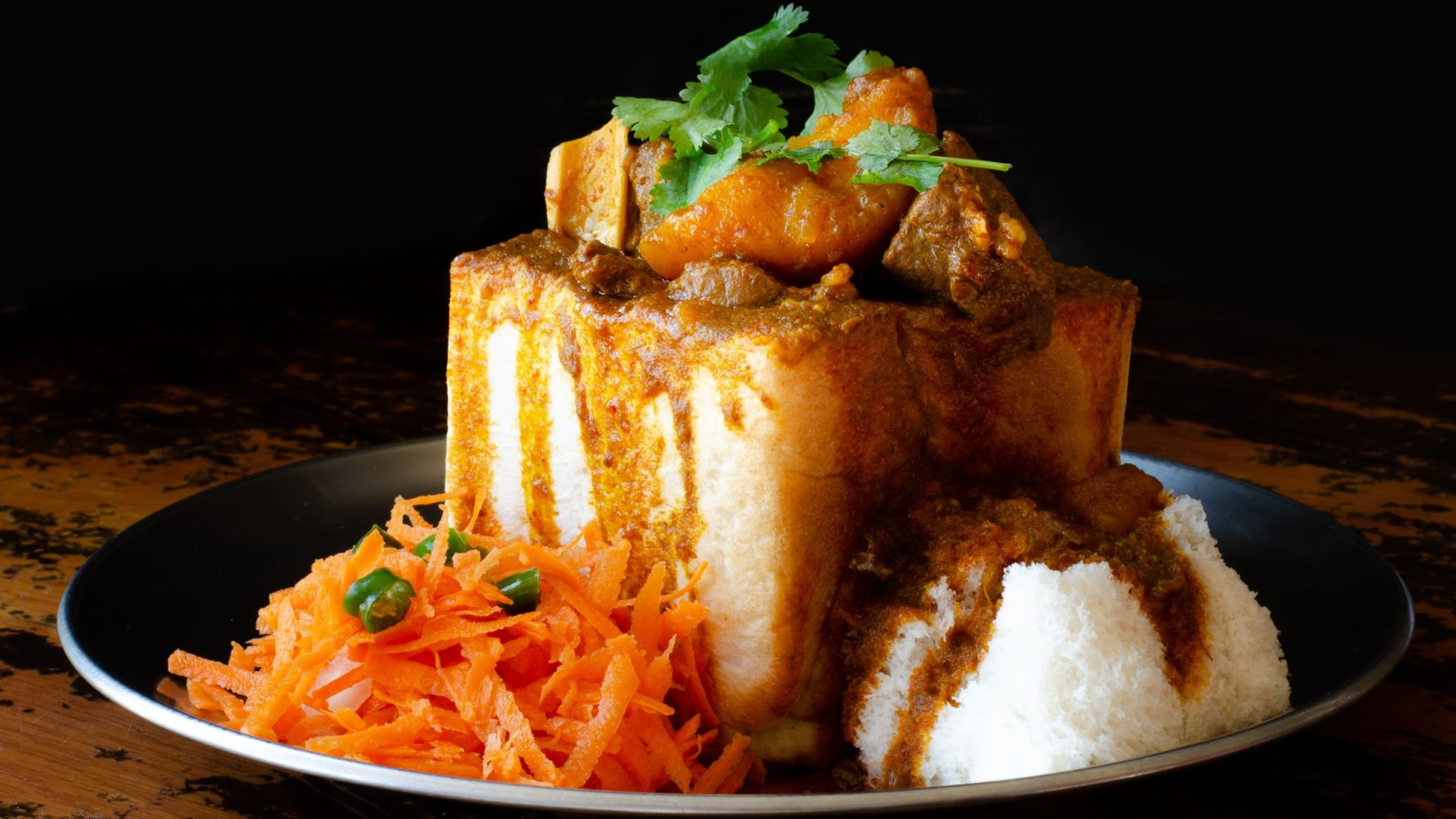 Mama's Mealtime Rezept: South African Bunny Chow